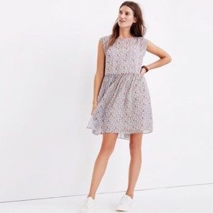 Madewell Sharon Tie Back Minidress